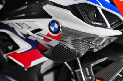 Test mit Winglets: Michael van der Mark am Montag erstmals auf der BMW