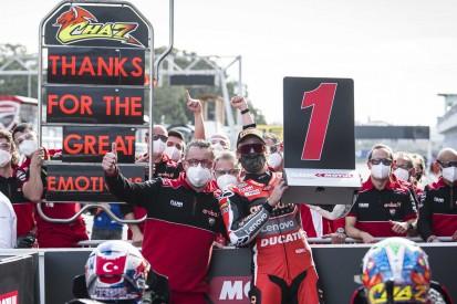 """""""Alle hatten Tränen in den Augen"""" - Chaz Davies gewinnt beim Ducati-Abschied"""