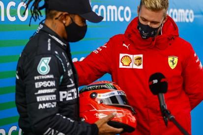 Lewis Hamilton: Hatte schon einen Helm von Michael Schumacher