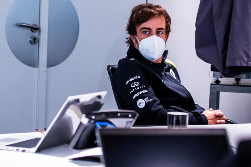 Fernando Alonso: Renault-Fahrer via Team-PC genau im Blick