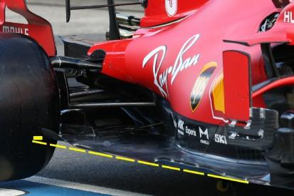 Formel-1-Technik in Portugal: Ferrari testet 2021er-Unterboden