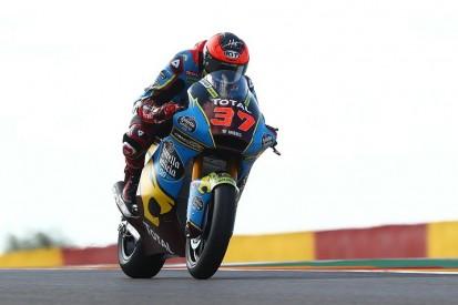 Moto2 Aragon 2 FT1: Marc-VDS-Duo an der Spitze, Schrötter nur auf P15