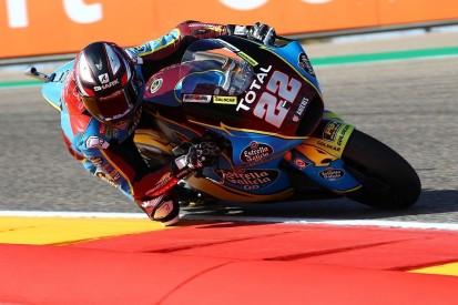 Moto2 Aragon 2 FT2: Zweimal Abbruch, Sam Lowes Schnellster