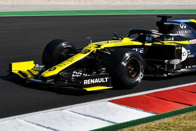 Kurioser Fehler: Renault verwechselt Reifen bei Ricciardo!
