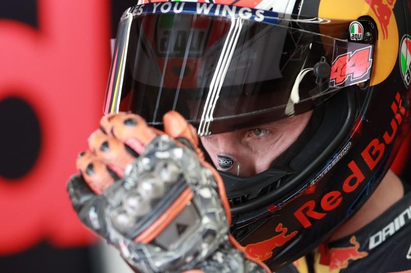 KTM nur in Reihe drei: Pol Espargaro war aber schnell genug für Reihe eins