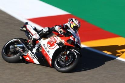 MotoGP Aragon 2: Polesetter Nakagami auch im Warm-up Schnellster