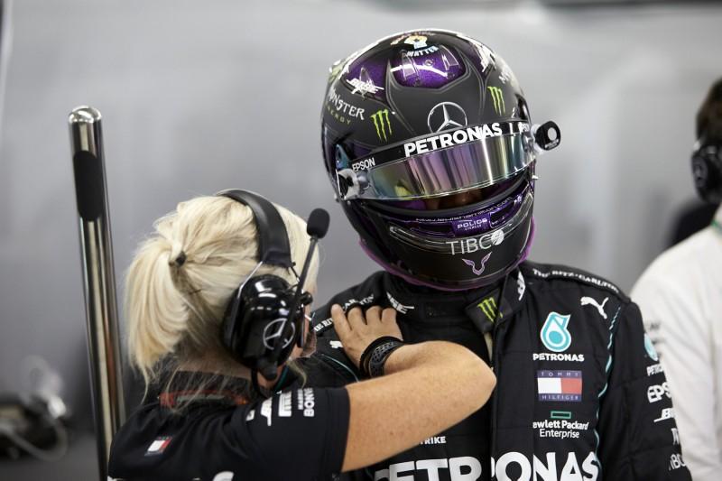 """Lewis Hamiltons Krampf in Portimao: """"Haben es auf den Daten gesehen"""""""