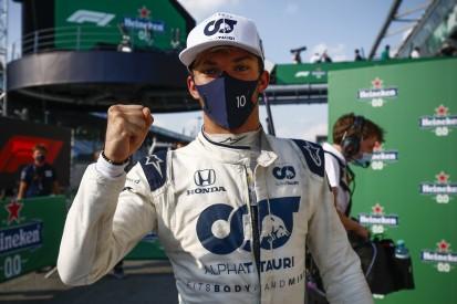 Pierre Gasly bleibt für die Formel-1-Saison 2021 bei AlphaTauri