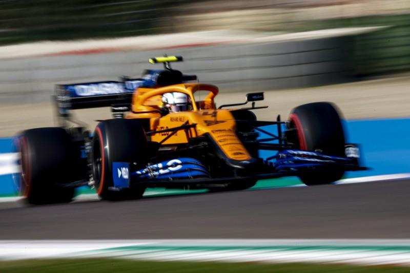 """McLaren mit Norris & Sainz in Q3: """"Das war extrem knapp"""""""
