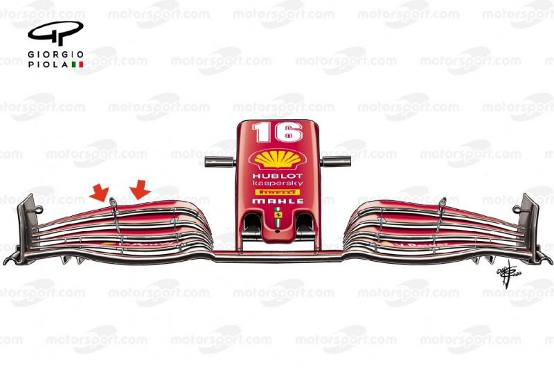 Formel-1-Technik: Die Ferrari-Updates aus Imola unter der Lupe