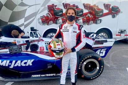 Noch größerer IndyCar-Fan als vorher: Felix da Costa nach starkem ersten Test