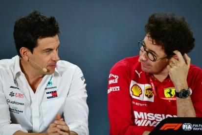 Mattia Binotto: So steht er wirklich zu Mercedes-Teamchef Wolff