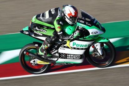 Der Österreicher Maximilian Kofler fährt auch 2021 in der Moto3-Klasse