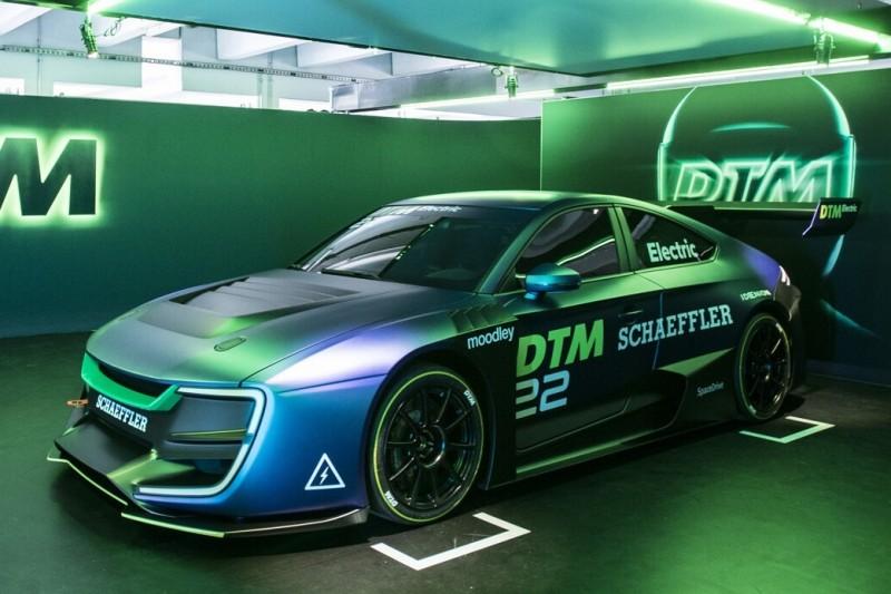 DTM Electric vorgestellt: Elektro-Renner mit 1.200 PS