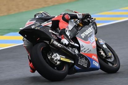 Moto2 Valencia FT1: Bestzeit und Sturz von Tom Lüthi