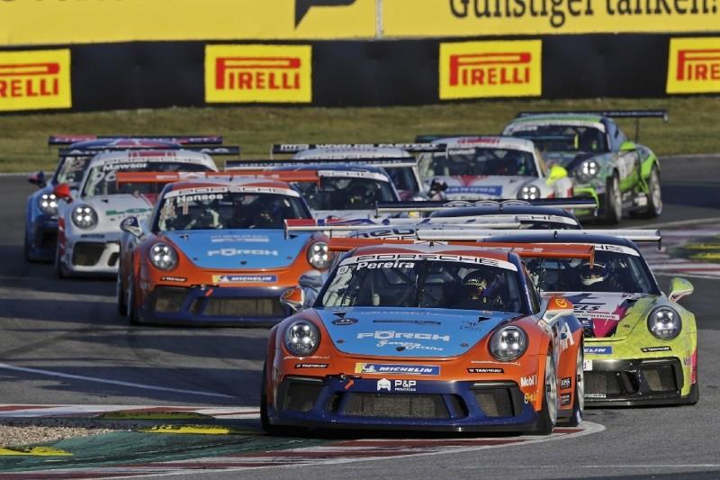 Porsche Carrera Cup Oschersleben: Pereira erzwingt mit Sieg Titel-Showdown