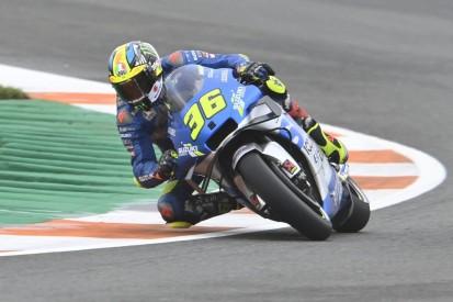 MotoGP Valencia: Joan Mir im trockenen Warm-up Schnellster