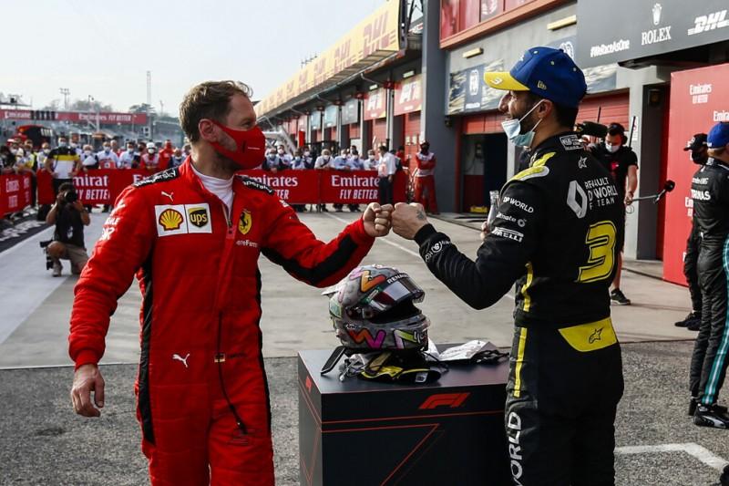 Ricciardo im Helmtausch-Fieber: Vettel ganz oben auf der Wunschliste