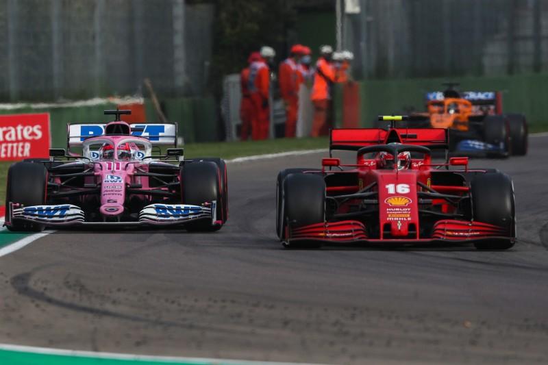 Charles Leclerc: Racing Point einzuholen ist nicht Ferraris Ziel