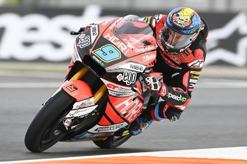 Moto2 FT1 Valencia 2: Bestzeit Navarro, Schrötter in den Top 5