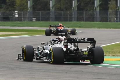 Vibrationen gespürt: Pirelli untersucht Hamiltons Imola-Reifen