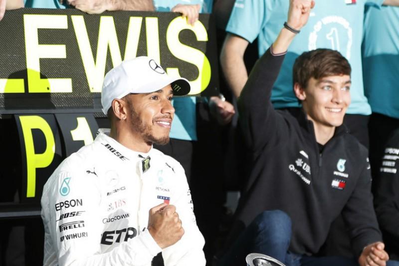 """Lewis Hamilton über George Russell: """"Er ist die Zukunft"""""""