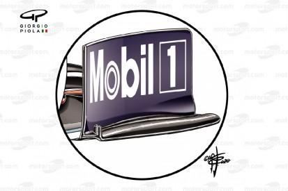 Formel-1-Technik: Drei Veränderungen am Frontflügel von Red Bull