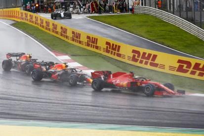Sebastian Vettels erste Runde: Von P11 auf P3 in neun Kurven!