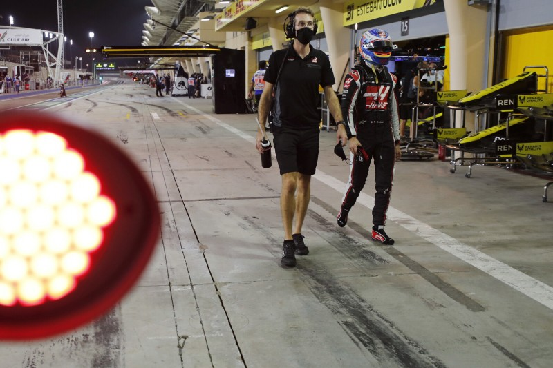 """Haas am Ende des Feldes: """"Keine Überraschung"""" für Grosjean"""