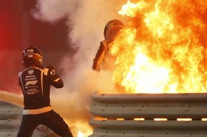 """Grosjean im Feuer: Wartezeit """"fühlte sich wie eine Ewigkeit an"""""""