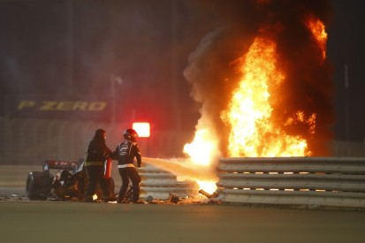 Warum es beim Unfall von Romain Grosjean gebrannt hat