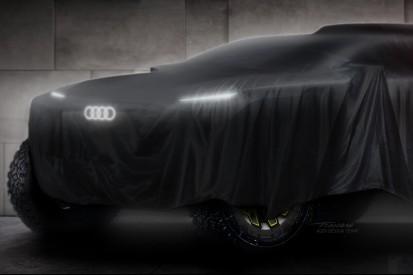 """Zweites Leben für DTM-Erfolgsmotor: Einsatz in Audis Dakar-""""Elektroauto"""""""