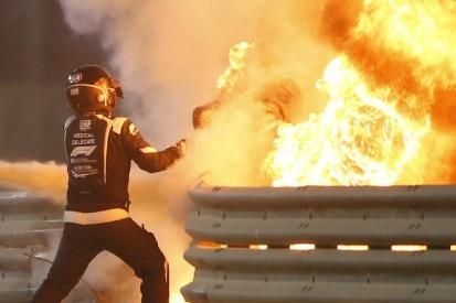"""""""Wie ein Ofen"""": So berichtet die Medical-Car-Crew von Grosjeans Feuerunfall"""