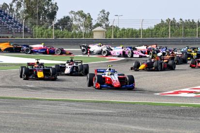 Neues Wochenendformat 2021: Formel 2 und Formel 3 mit drei Rennen