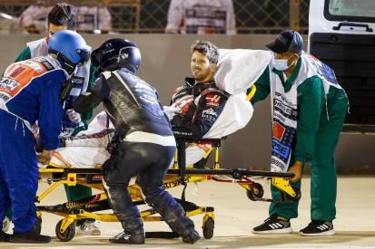 Nach Feuerunfall: Romain Grosjean aus dem Krankenhaus entlassen