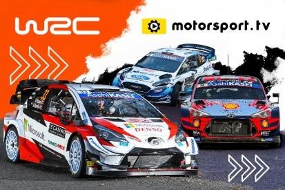 Rallye-WM startet eigenen Kanal auf Motorsport.tv
