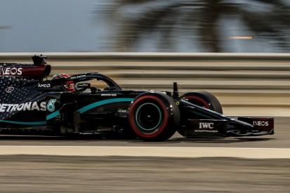F1 Sachir: Bottas verliert Trainingsduell gegen Mercedes-Neuling Russell!