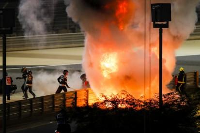 Romain Grosjean: Warum er im Feuer fast nichts sehen konnte