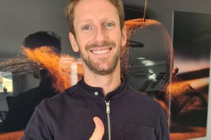 Romain Grosjean zeigt Grad seiner Verbrennungen auf Social Media