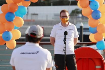 """Andreas Seidl: """"Stolz darauf, heute Teil des McLaren-Teams zu sein"""""""