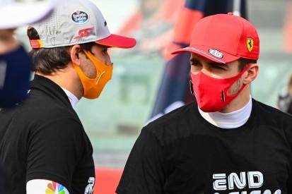 Ferrari stellt klar: Leclerc und Sainz zumindest zu Beginn gleichberechtigt