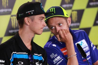 """Valentino Rossi über Halbbruder Luca Marini: """"War zuletzt schneller als ich"""""""