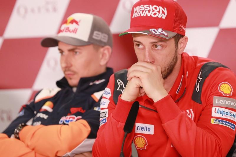 Lorenzo vs. Dovizioso: Emotionaler Streit der ehemaligen Ducati-Teamkollegen