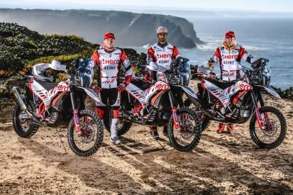 Einziger deutscher Motorradfahrer: Sebastian Bühler fährt Dakar für Hero
