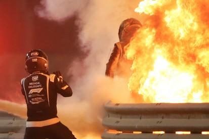Fahrerkleidung in der Formel 1: So überlebte Grosjean den Bahrain-Crash