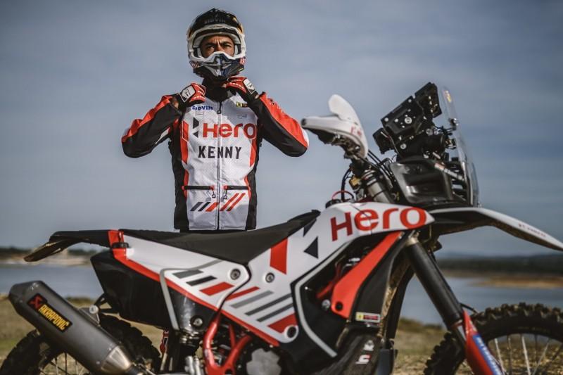 Rallye Dakar: Hero gibt Entwarnung zu verletztem Motorradfahrer Santosh