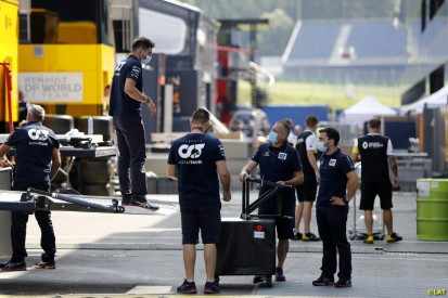 Austrian GP Paddock Wednesday