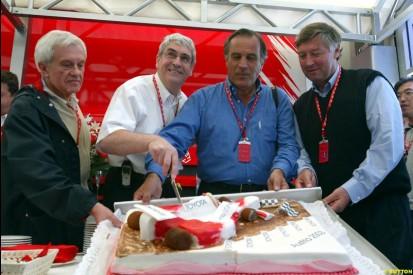 2003 Austrian GP Saturday