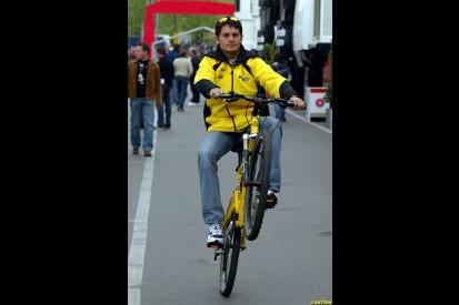 2003 Austrian GP Sunday