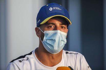 "Ricciardo recalls ""panic"" of inconclusive COVID test ahead of Russian GP"
